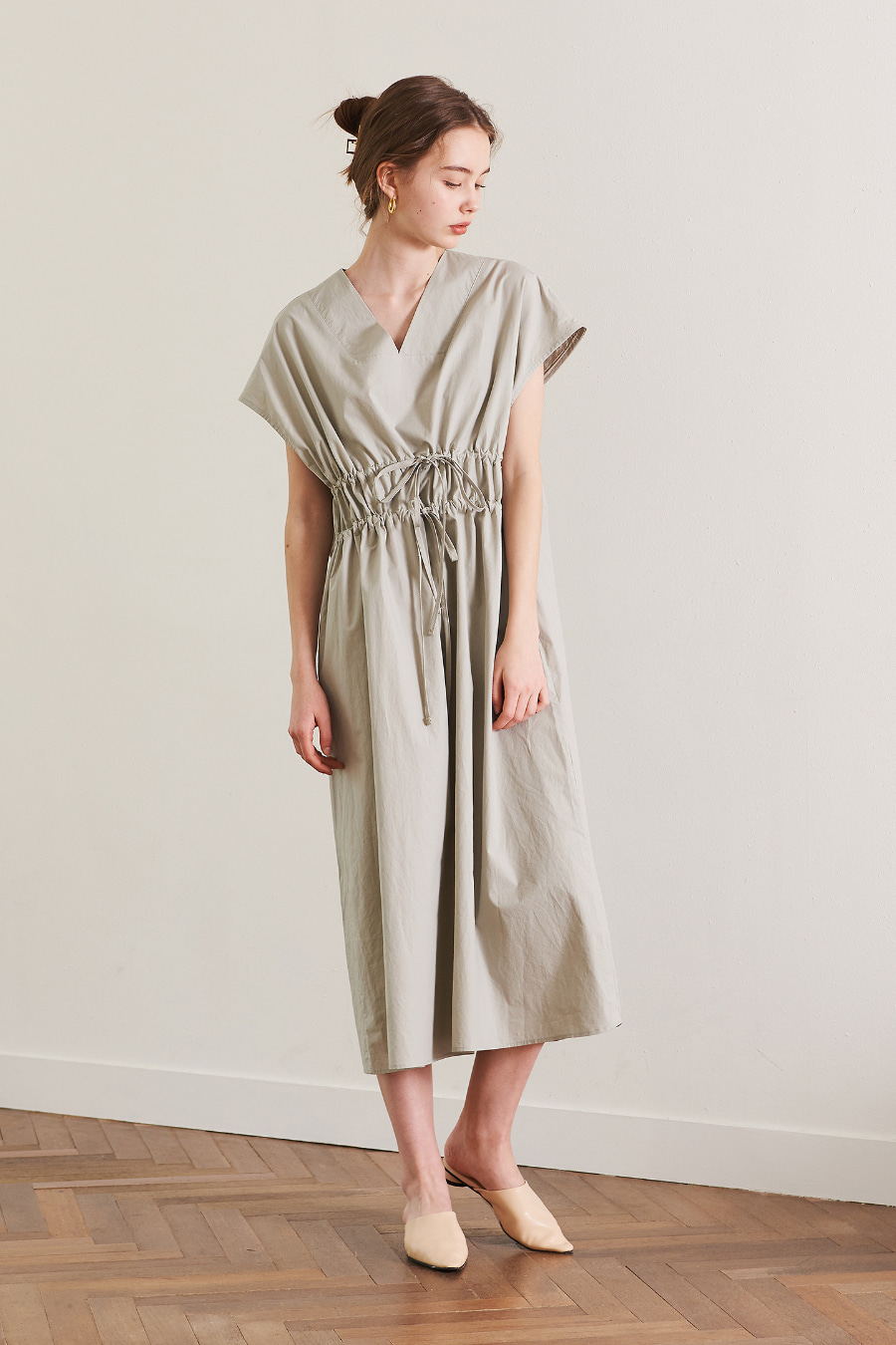 유라고 URAGO Athens string long dress