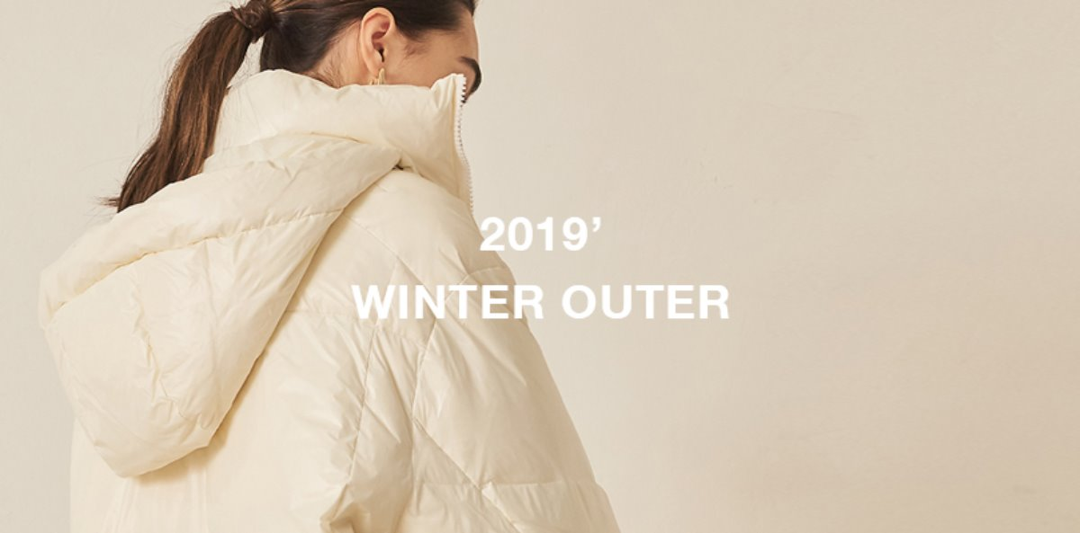 유라고 19 Winter Recommend outer
