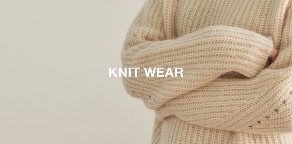 유라고 Winter = knitwear